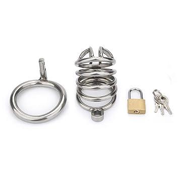 Pene Lock, dispositivo de castidad masculina Jaula Castigo ...