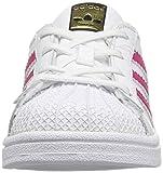 adidas Originals Kids' Superstar, White/Bold