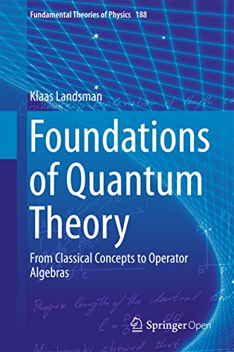 Foundations of Quantum Theory: From Classical Concepts to Operator Algebras (Fundamental Theories of Physics)