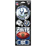 WinCraft NFL Indianapolis Colts Prismatic Stickers, Team Color, One Size