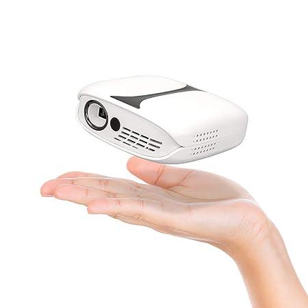 HANG Mini proyector LCD inalámbrico WiFi - Proyector para ...