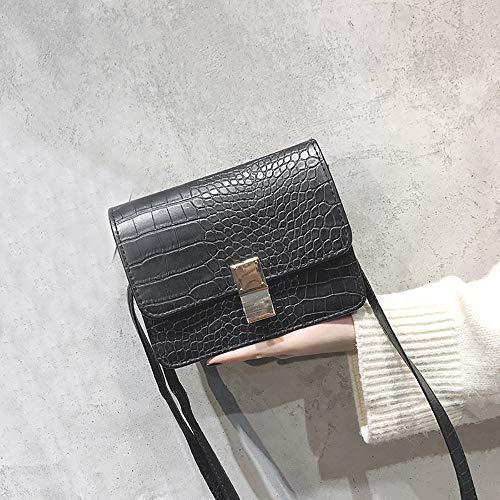 BBestseller Cerradura Metalica Cuero Bandolera Retro Waterproof pequeña Bandolera Diagonal Bolsos Crossbody Mujer: Amazon.es: Ropa y accesorios