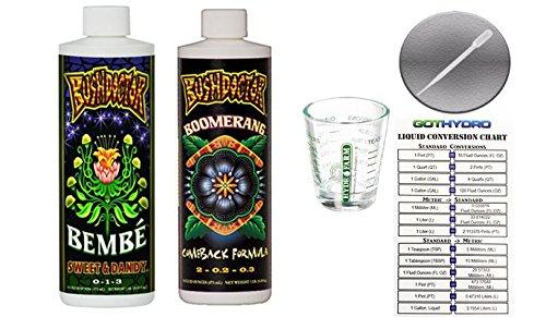 Boomerang Card - Fox Farm Bembe Sweet & Dandy w/Boomerang Pints Shot Glass GotHydro Card Pipette