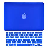 TopCase 2-in-1 Macbook Pro 15-Inch A1398 with Retina Display ROYAL BLUE Rubberized Hard Case Cover and Keyboard Cover (LATEST VERSION / No DVD Drive / Release June 2012)+ TopCase Mouse Pad