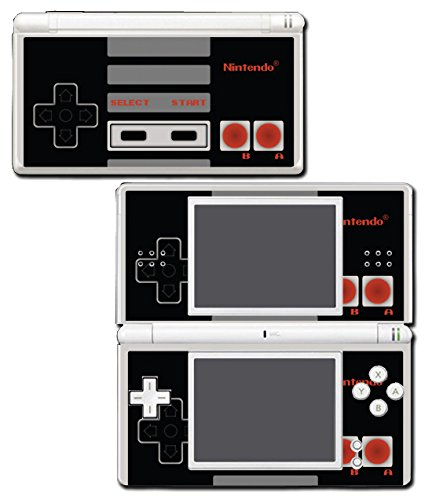 Retro NES Nintendo Entertainment System Original Controller Art Special Edition Video Game Vinyl Decal Skin Sticker Cover for Nintendo DS Lite (Nintendo Ds Skin)