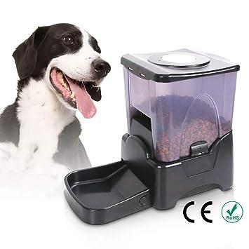 DJLOOKK Perros comederos automáticos alimentador automático Grande ...