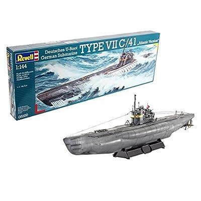 Revell of Germany U-Boat Typ VIIC/41 Plastic Model Kit: Toys & Games