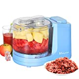 Electric Food Chopper Improved Assembly/Kitchen Selective Mini Chopper with 2 Cup One-Touch Mini Food Chopper/Fresh Chop Food Chopper