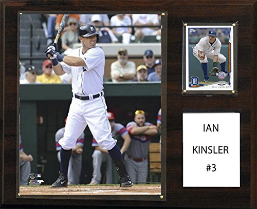 C&I Collectables MLB Detroit Tigers Ian Kinsler Player Plaque, 12 x 15-Inch