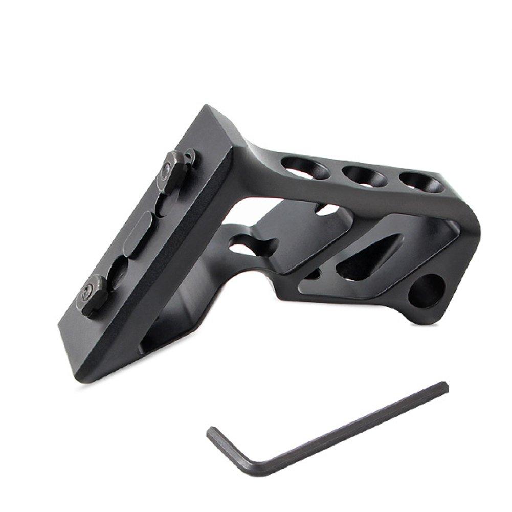 Metall UniqueFire Taktische Handstange vertikal M-Lok Schiene Schwarz