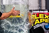 Flex Tape Rubberized Waterproof Tape, 12 Inch x 10