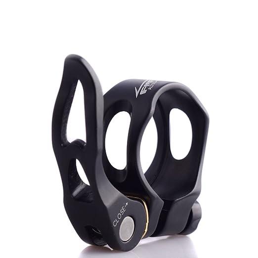 UPANBIKE Cerraduras de Asiento Abrazadera de tija de Bicicleta Hueca liberaci/ón r/ápida 31.8 mm 34.9 mm aleaci/ón de Aluminio Clip de Tubo