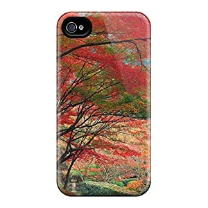 High Quality DMucase Beautiful Nature Skin Case Cover Specially Designed For Iphone - 4/4s