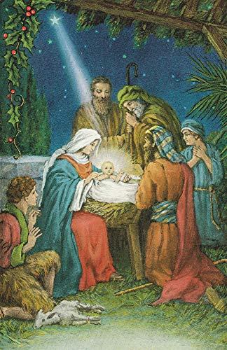 Hermitage Art Company 723004 Bulletin - C-Nativity - Christmas]()