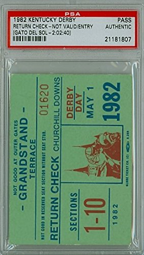kentucky derby ticket stub - 6