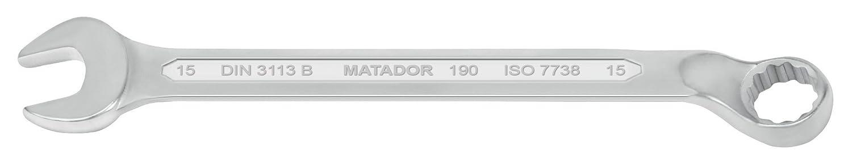 gekr/öpft MATADOR 0190 8006 Ringmaulschl/üssel 9//16 AF