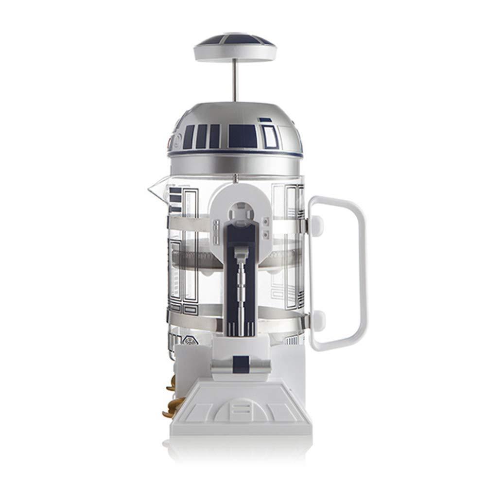 Hand Coffee Machine R2D2 Robot Home Mini Insulation Pot Coffee Pot Mocha Method Pressure Pot