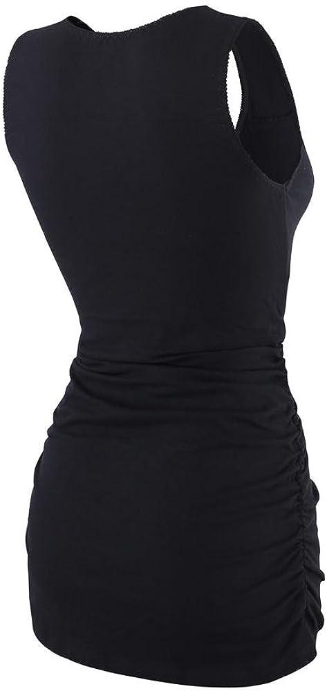 Mujer Top de Maternidad y de Lactancia ZUMIY Camiseta Premam/á