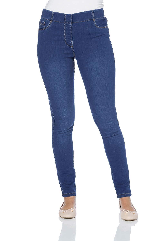 Roman Originals Women Denim Jeggings - Ladies Trouser Everyday Comfortable Cotton Fashion Workwear 180014p