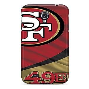 L.M.CASE Perfect Tpu Case For Galaxy S4/ Anti-scratch Protector Case (san Francisco 49ers)