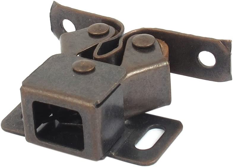 uxcell Cupboard Cabinet Caravan Door Metal Double Roller Catch Latch Hardware