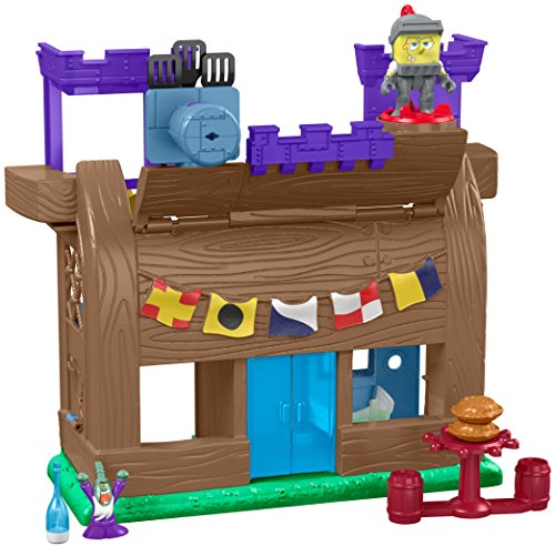 Fisher-Price Imaginext Spongebob Squarepants, Krusty Krab Kastle ()