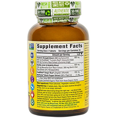 51TcuOYNkXL - MegaFood Turmeric Strength for Joint