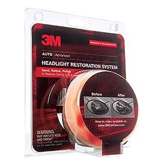 3M Headlight Lens Restoration System, 39008