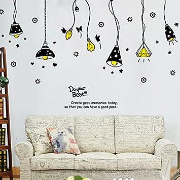 GOUZI Kronleuchter Retro Kronleuchter Kinder Mode Hintergrund 60 * 90 CM  Wandaufkleber Abnehmbare Wandaufkleber Für Schlafzimmer