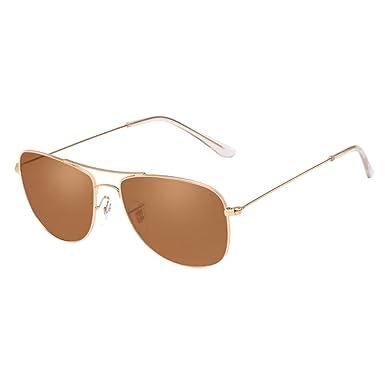 Zhhlaixing Homme et Femme Sunglasses lunettes de Soleil Oversized Metal Frame Ocean Chip Lunettes de Vue Gradient Color 0HOuRAXY3T