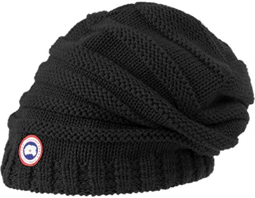 ee3925e42bc Canada Goose Women s Merino Slouchy Beanie. Back. Double-tap to zoom