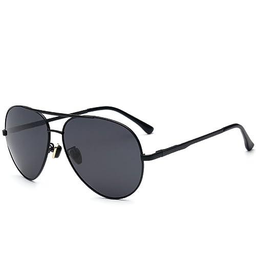 FAONL Metal Clásico Gafas De Sol Reflectantes Gafas De Sol Polarizadas Piloto