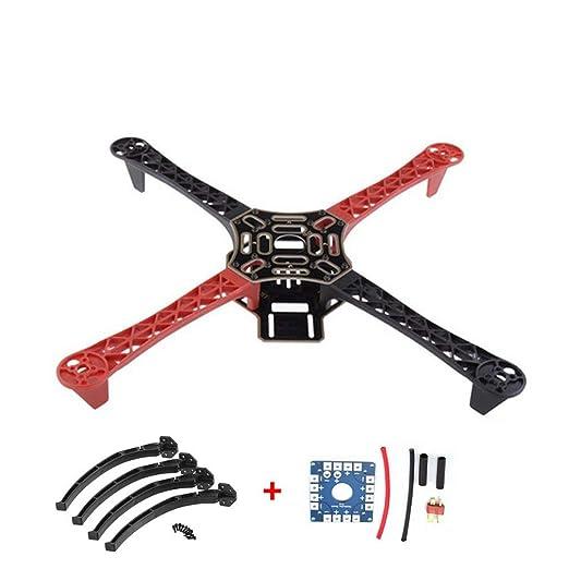 Hehilark F450 450 RC - Marco de Drone con Kit de Tarjeta eléctrica ...