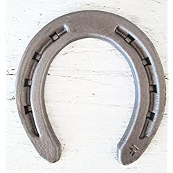 The Heritage Forge - 20 Horseshoes - RDM - Sand Blasted Steel Size R1-F (OOO)