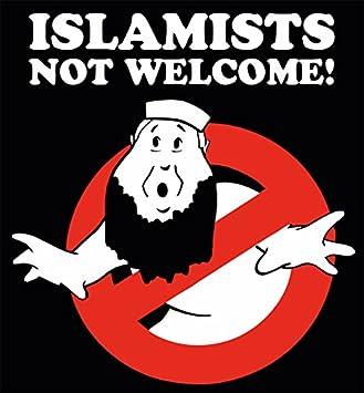 Aufkleber Sticker Islamists Not Welcome Aufkleber Set 10 Stück Islamisten Islamists Terror Terroristen Multikultiwahn Gegen Terror Und