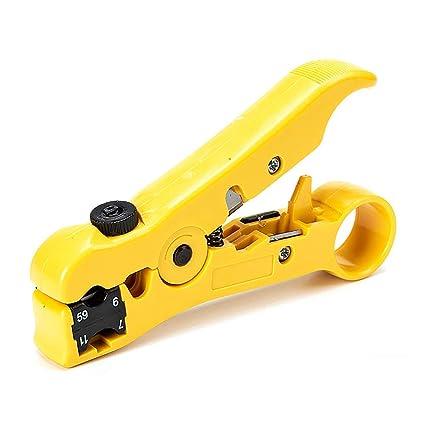 Mioloe Multi-Tool Stripper Stripper UTP STP Coaxial Cable coaxial pelar Herramienta Universal