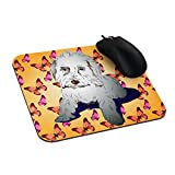 Customized canine, animal, puppy, pet Rectangle Non-Slip Rubber Mousepad Gaming Mouse Pad Stylish, durable office accessory and gift