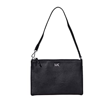 2f847a66abd7 MICHAEL Michael Kors Convertible Clutch, Color 001 Black: Handbags ...