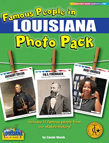 Social Studies Bulletin Board (Gallopade Publishing Group Famous People from Louisiana Photo Pack (9780635122421))