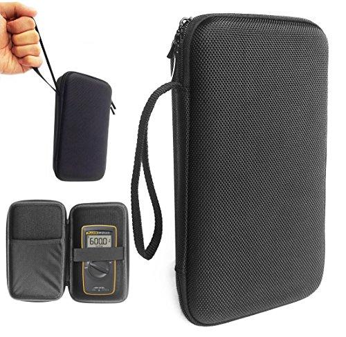 FitSand (TM) Carry Travel Zipper Portable Protective Hard Case Cover Box for Fluke 101 Basic Digital Multimeter