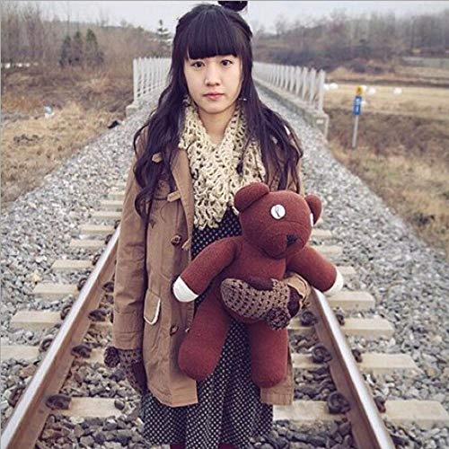 Bean Bear Plush Mr Teddy (La Dran 35cm Genuine Mr.Bean Plush Teddy Bear Toys Cute Staffed Toys Dolls Creative Gifts for Kids Birthday)