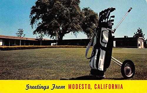 Modesto California Del Rio Gold Country Club Vintage Postcard K90217