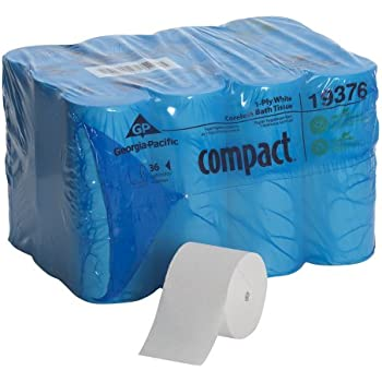 Amazon Com Georgia Pacific Compact Coreless 1 Ply Toilet