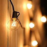 Tomshine Cadena de Luz G40 Guirnaldas luminosas