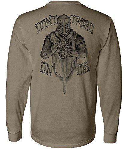 Crusader Long Sleeve - Longsleeve Crusader T-Shirt Coyote - Med