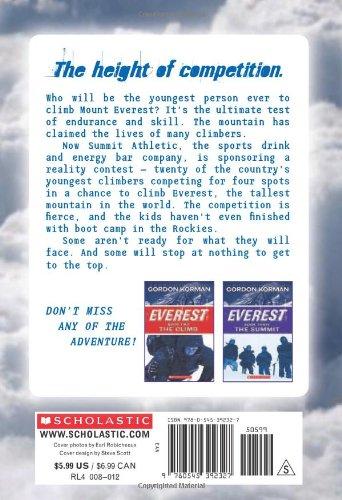 Everest Book One: The Contest: Gordon Korman: 9780545392327: Books ...