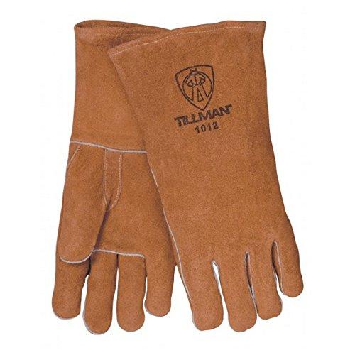 Tillman 1012 Economy Shoulder Split Cowhide Welding Gloves, Large (Gloves Economy Welding)