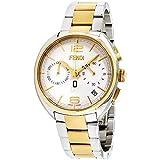 Fendi Mens silver dial, stainless-steel bracelet watch F213114000XG (Certified Refurbished)