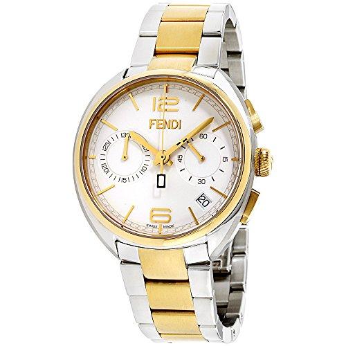 Fendi Mens silver dial, stainless-steel bracelet watch F213114000XG (Certified - Men Fendi Watches