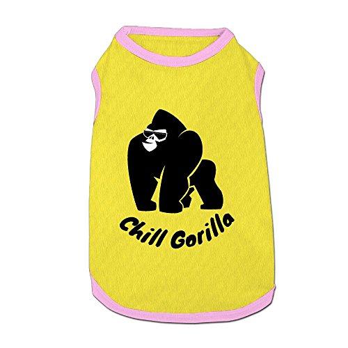 Gorilla Puppy Dogs Shirts Costume Pets Clothing Warm Vest T-shirt Large ()
